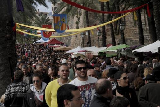 Imagen del Dia de les Illes Balears del año pasado.
