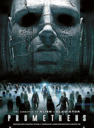 Cartel de la película 'Prometheus'.