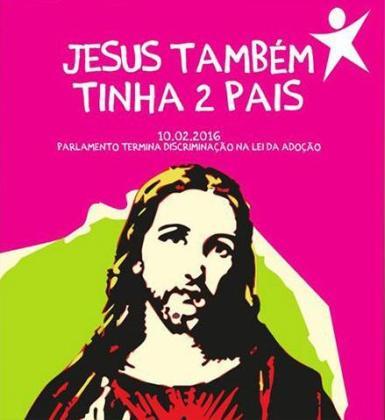 Cartel del partido de izquierdas portugués que ha generado polémica.