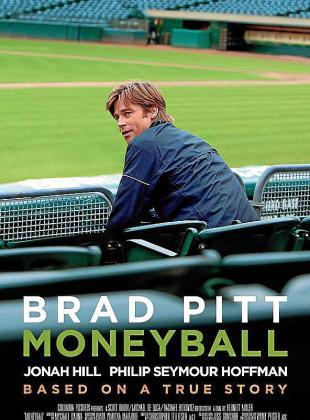 Cartel de la cinta 'Moneyball: Rompiendo las reglas'.