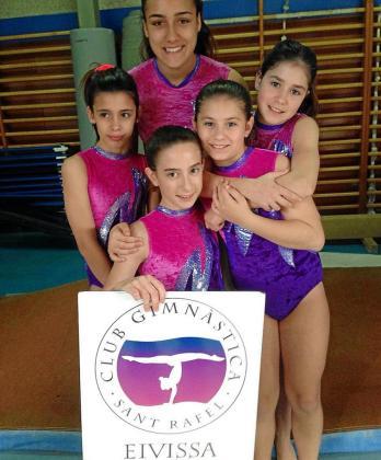 Las integrantes del CG Sant Rafel.