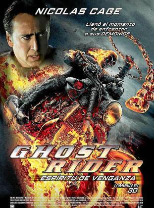 Imagen promocional de la película 'Ghost Rider: Espíritu de venganza'.