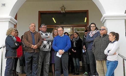 El alcalde de Sant Josep reclamó la creación de un gran pacto de Estado contra la violencia machista.