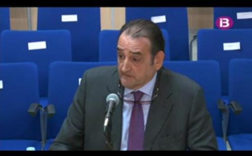 Carlos Masa, durante su declaración.