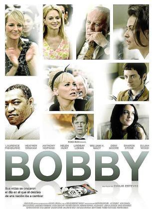 Cartel de la película 'Bobby'.
