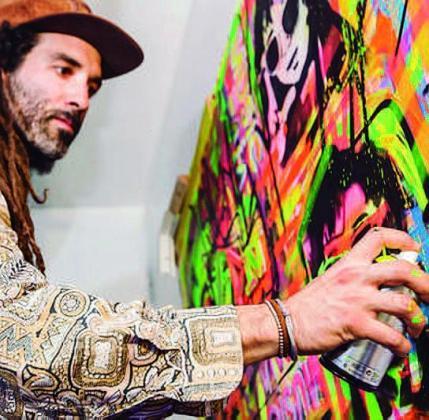 El artista Boke estará en este festival artístico.