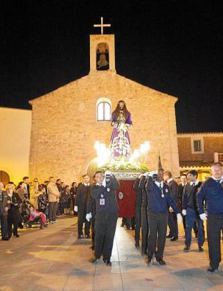 Procesión del jueves santo en Formentera.