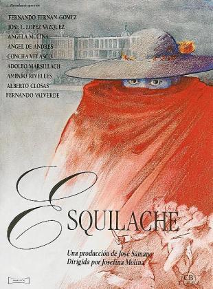 Cartel de la película 'Esquilache'.