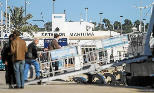 Formentera quiere que la estación marítima continúe en el mismo lugar. Foto: T. E.