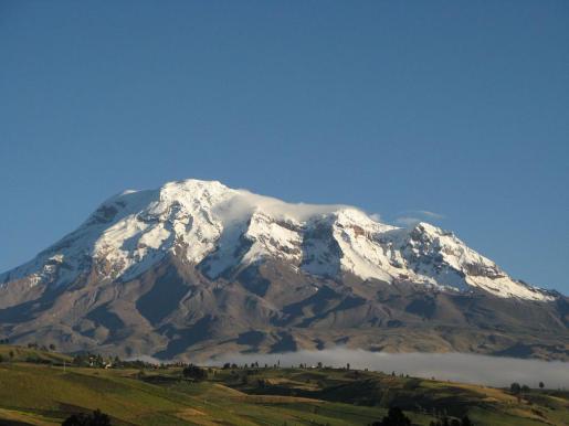 Imagen del Chimborazo.
