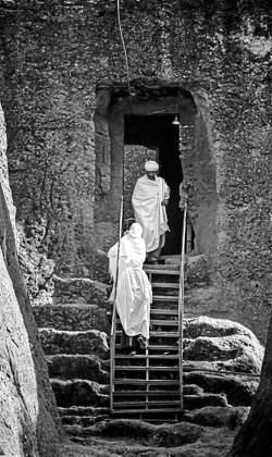 Una de las fotografías que forman parte de la muestra 'Escenes Etíops', la particular visión de Joaquim Seguí, que podrá visitarse hasta el próximo 17 de abril en Can Jeroni. Foto: J. S.