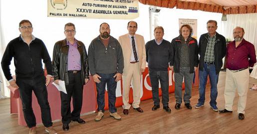 Jorge Gaona, Rafel Florit, José Bassa, Antoni Bauzà, José Rodríguez, Florián Talaya, Miquel Cabrer y José María Jaén.