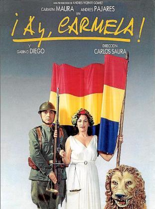 Cartel de la película '¡Ay, Carmela!'.