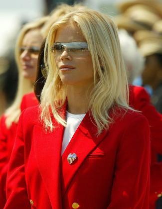 Fotografía de archivo de la ex esposa del golfista estadounidense Tiger Woods, Elin Nordegren.