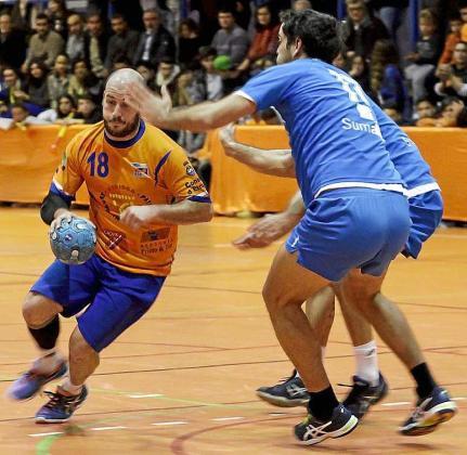 Santi Maíllo, en una partido anterior. Foto: DANIEL ESPINOSA