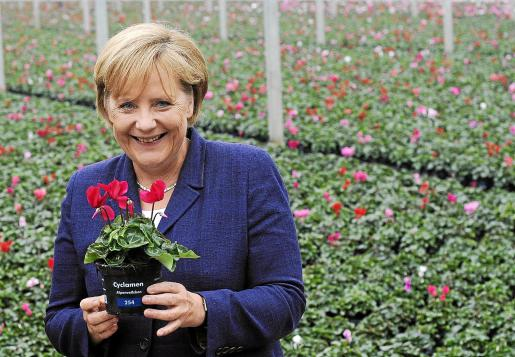 La canciellera alemana, Angela Merkel.