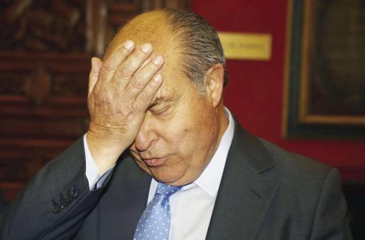 El alcalde de Granada, José Torres Hurtado, momentos antes de la rueda de prensa tras su puesta en libertad el pasado miércoles.