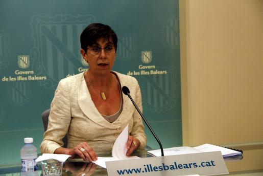 Joana Barceló, consellera de Turisme.