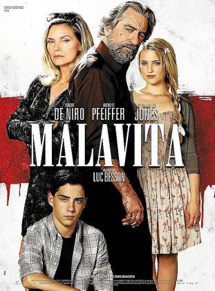 Cartel del film 'Malavita (The Family)'.