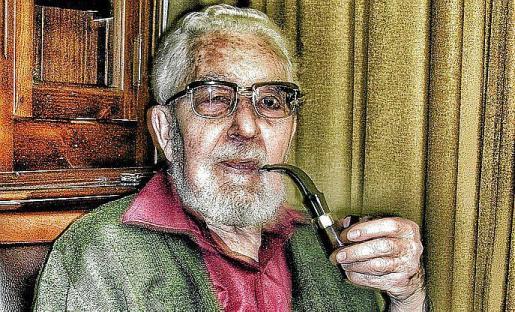 Imagen de Villamor, autor de los retratos del Quijote.