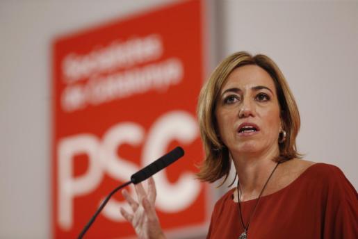 La ex cabeza de lista del PSC, Carme Chacón, en una imagen de archivo.