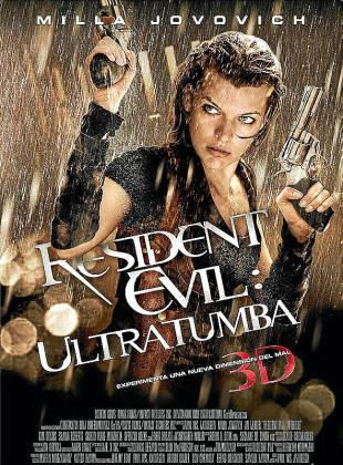 Cartel del film 'Resident Evil: Ultratumba'.