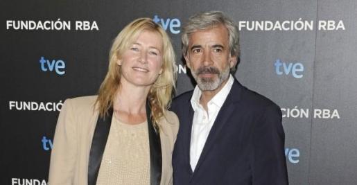 Los actores Ana Duato e Imanol Arias, en la gala de presentación de una de las últimas temporadas de la exitosa serie televisiva 'Cuéntame'.