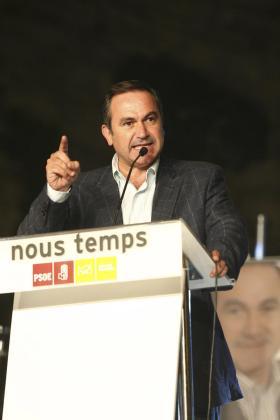 Xico Tarrés durante la pasada campaña electoral.
