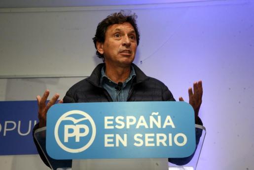 Mateo Isern encabezó las listas del Partido Popular balear en las elecciones generales del 20-D.