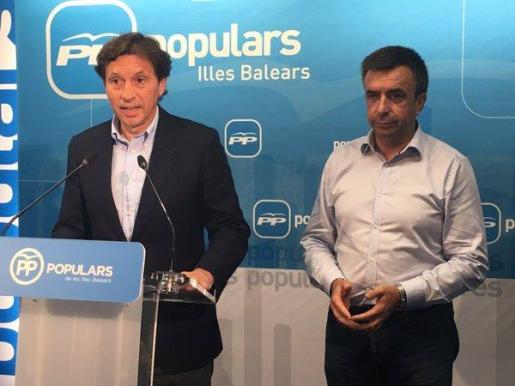 Mateo Isern, diputado por el PP y exalcalde de Palma, ha dicho este miércoles que no encabezará la lista de lo populares de Balears en las elecciones del 26J.