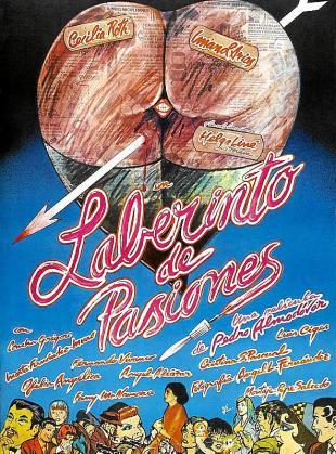 Cartel de la cinta 'Laberinto de pasiones'.