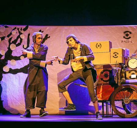 Imagen de una de las actuaciones. Foto: DANIEL ESPINOSA