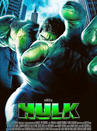 Cartel de la película 'Hulk'.