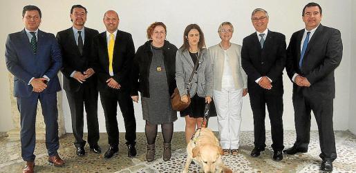 Josep Alfonso, Miguel Zugaza, Jaume Gomila, Ruth Mateu, María del Carmen Soler, Joana Maria Palou, Jean Paul Rignault y Fernando Pérez.