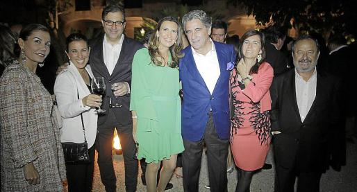 Carmen Lliteras, Cristina Gómez, Guillermo Dezcallar, María Rumeu, Joan Buades, Teresa Castella y Vicenç Rotger.