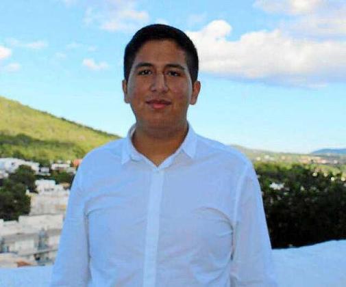 El joven ecuatoriano Jean Pierre Quiroz Rivera.