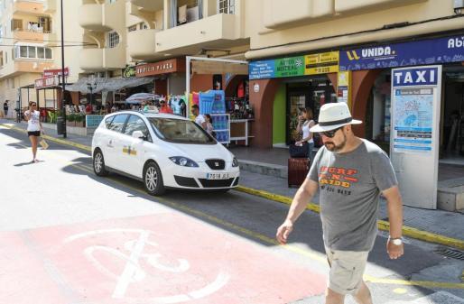 Parada de taxis de ses Figueretes.