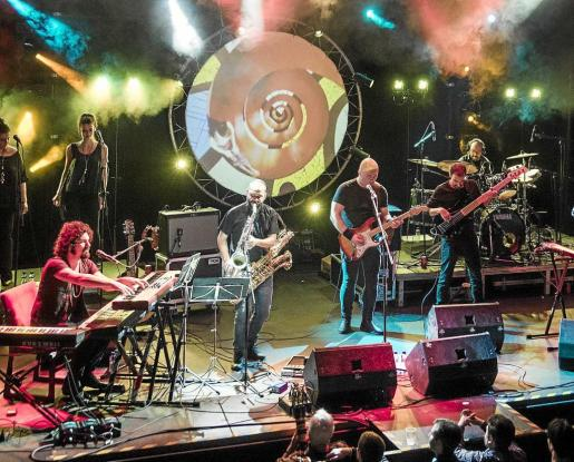 Una imagen del espectáculo 'The other side, A Pink Floyd live experience'.