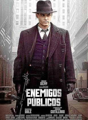 Cartel del film 'Enemigos públicos'.