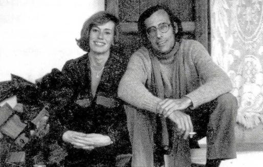 Félix Julbe y Ana Casanovas en Eivissa (1983).