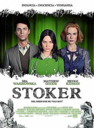 Cartel de la película 'Stoker'.