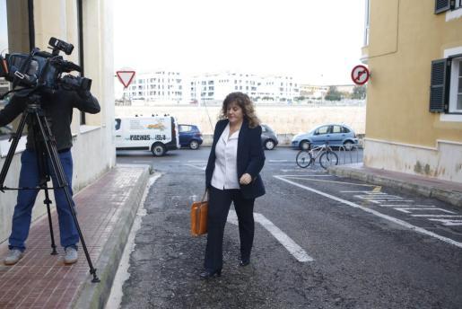 Joana Maria Camps declaró ante la jueza desde Ciutadella.
