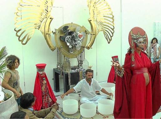 Las asociaciones culturales ofrecieron una producción artística muy especial para la ocasión.