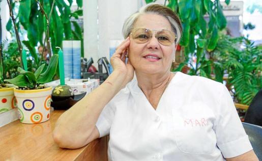 Mary Roig es una mujer ibicenca que adora las costumbres payesas. Foto: T. ESCOBAR