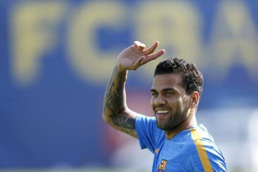 El exfutbolista del FC Barcelona Dani Alves.