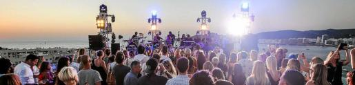 La impresionante fiesta sorprendió a todos los asistentes. Foto: TONI ESCOBAR