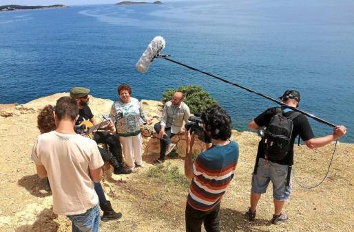 Un momento del rodaje del nuevo programa de Global Mediterráneo. Foto: La guía secreta de ...
