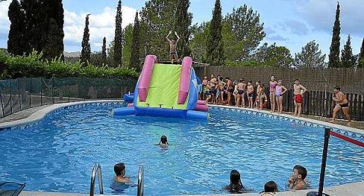 Los niños celebraron todo tipo de actividades.