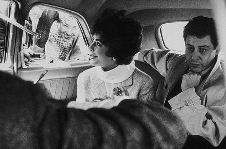 Eddie Fisher y Elisabeth Taylor, en la época en la que eran matrimonio.