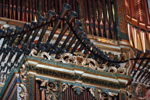 El órgano de la Basílica de Sant Francesc de Palma